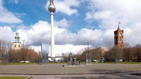 Die Öde dort, wo ehemals die historische Mitte lag, bietet ein weites Feld für Visionen. Bürgerlich? Repräsentativ? Wie soll Berlins Mitte aussehen?