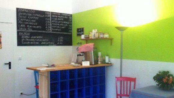 In der kleinen gemütlichen Café-Ecke...