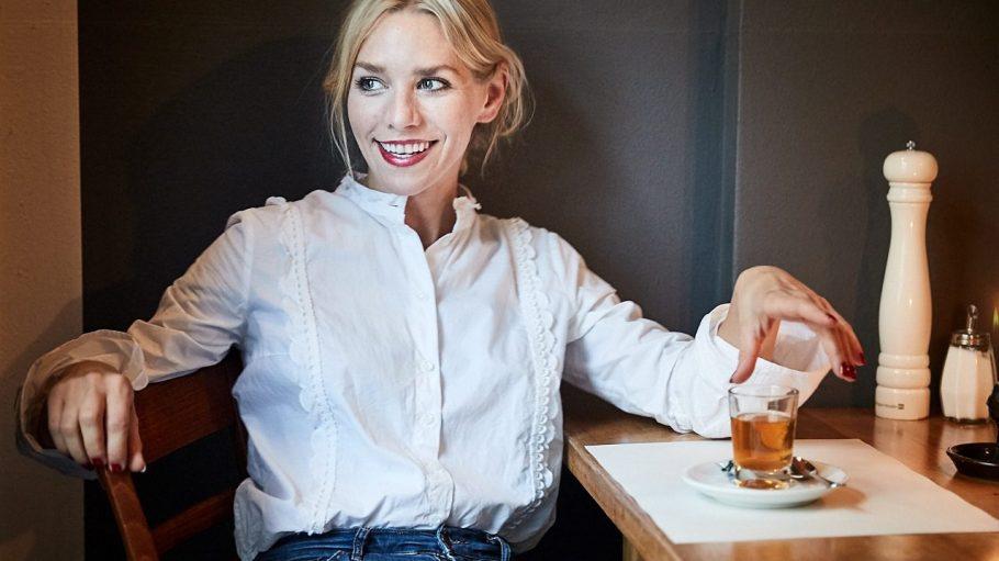 Die talentierte Schauspielerin Julia Dietze lebt seit 10 Jahren in Kreuzberg.