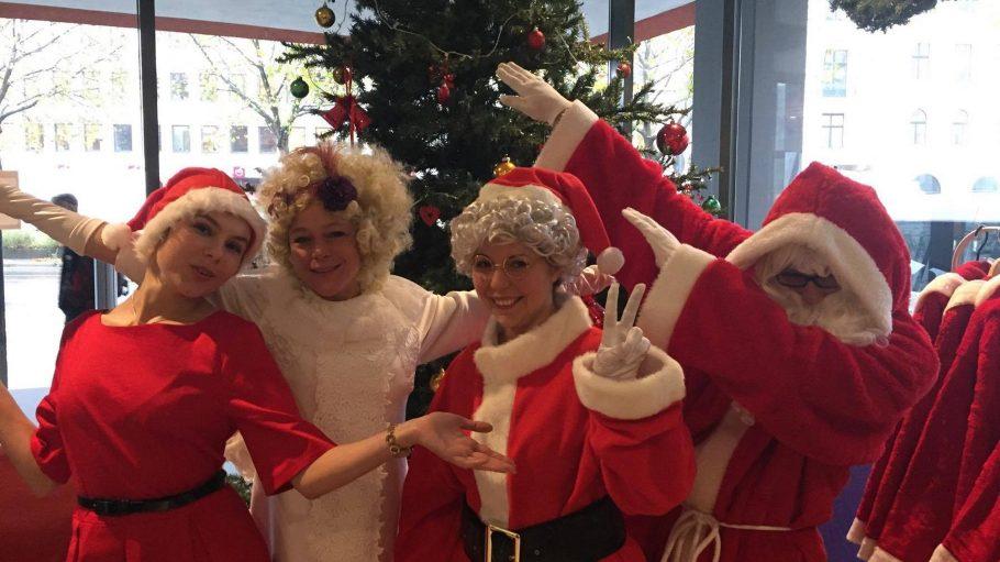 Die Weihnachtshelfer des StudierendenWerks sind schon in den Startlöchern.