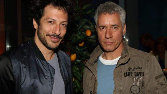"""Und noch mehr echte Kerle: Die Schauspieler Fahri Yardim (l., """"Almanya"""") und Ralph Herforth."""
