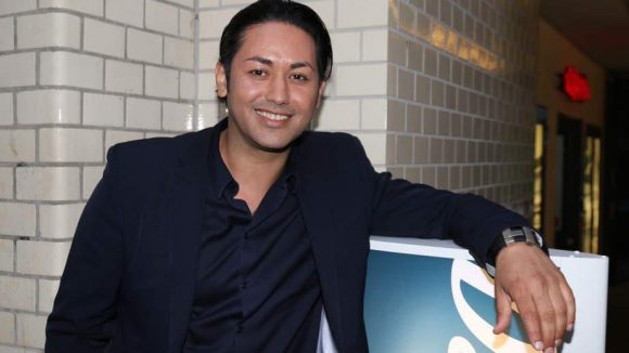Sänger Karim Maataoui, ehemals Touché, war im Base_camp dabei.