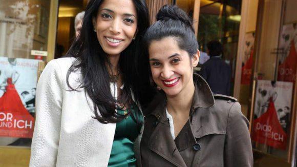Die Models Zoehre Esmaeli und Rabeah Rahimi (rechts).