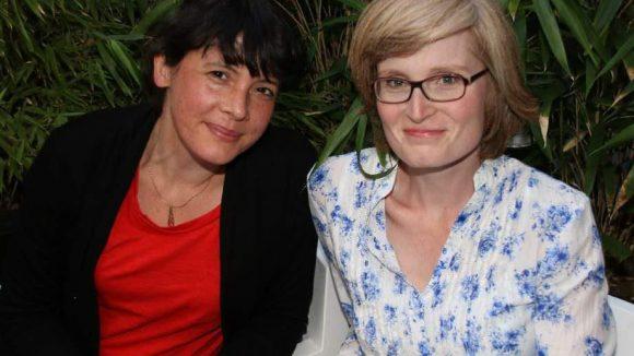 Die Journalistinnen Judith Jenner (links) und Karen Grunow.