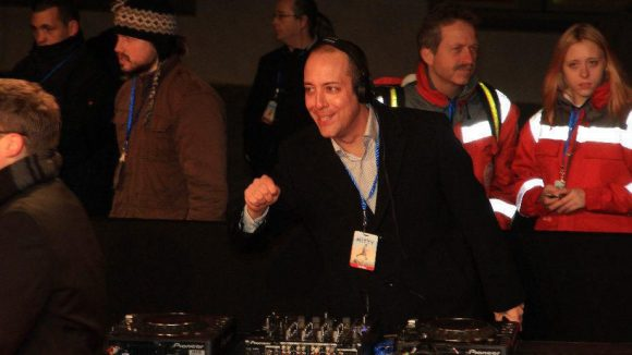 Legte auf, als gäbe es kein morgen: DJ Michel (Radio Energy).
