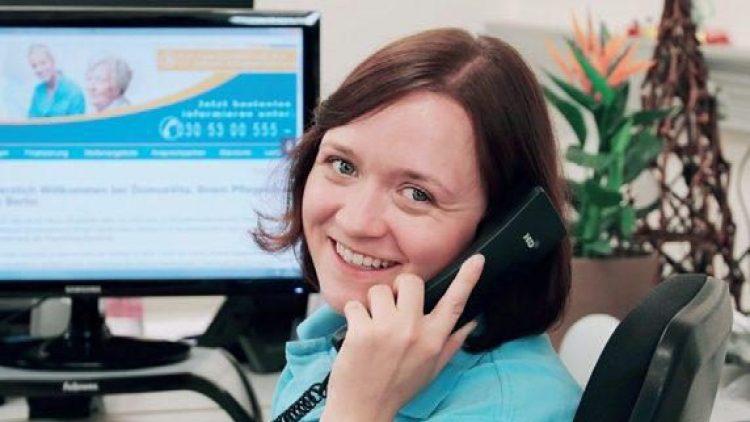 DomusVita berät Sie gerne auch telefonisch.