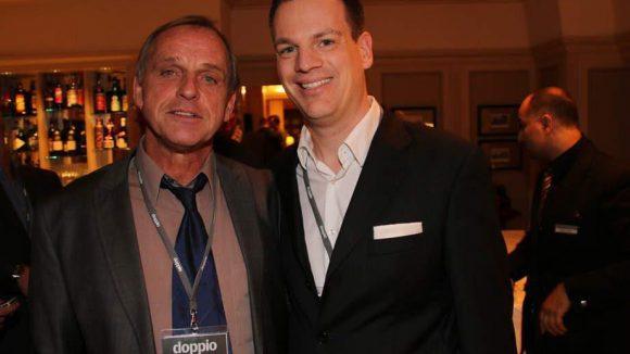 Stolz: Redaktionsleiter Ralf Gawel (l.) und Geschäftsführer Olaf Zachert.