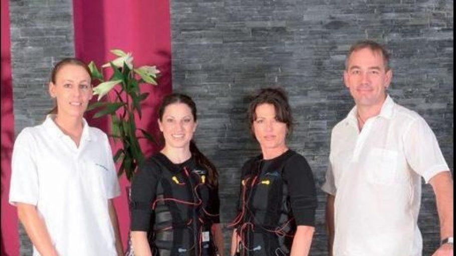 Daniela Mahl und ihr Team bei dorsofit – dem Zentrum für Physiotherapie und Wellness.