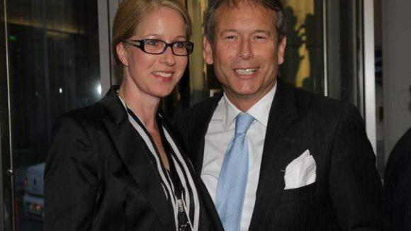 Finanzsenator Dr. Ulrich Nußbaum mit seiner Frau Birgit.