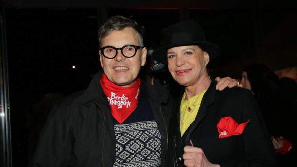 Irgendwie ganz süß, das Paar: Rolfe und Barbara Engel.