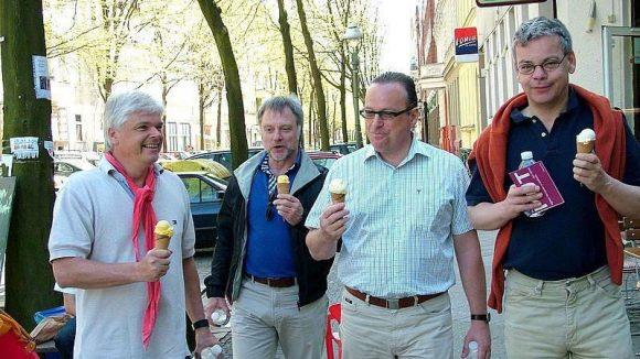 Hmmm, lecker Eis ...