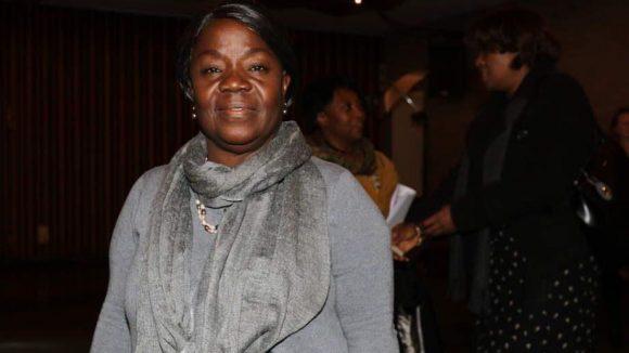Comfort O. Swengbe ist Geschäftsträgerin der Liberianischen Botschaft und war ebenfalls bei der besonderen Vorpremiere des Films inklusive einer anschließenden Diskussionsrunde dabei.