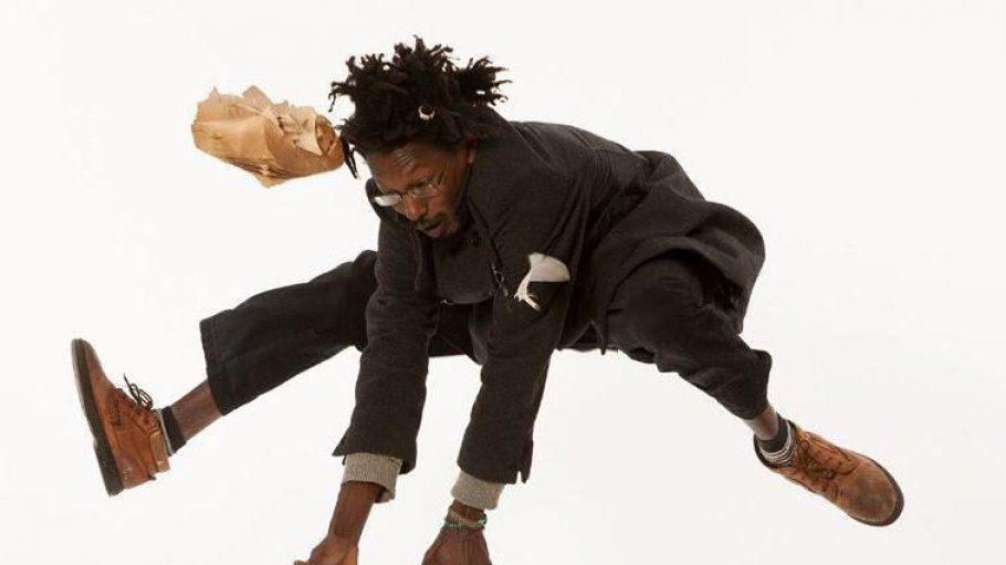 Auch Eddy aus dem Kongo ist ein Berliner. Das Shooting mit dem Künstler hat Georg Krause besonders viel Spaß bereitet.