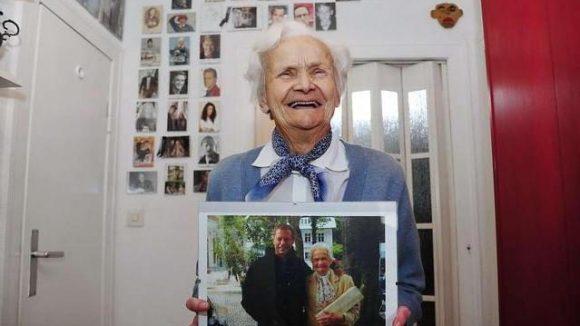 Johanna Penski ist als Komparsin auch mit 85 noch sehr gefragt.