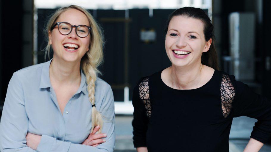 Die Gründerinnen Susann Hoffmann (links) und Nora-Vanessa Wohlert.