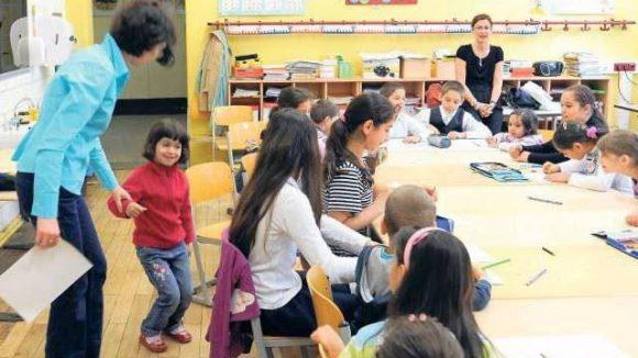 Gemeinsam stark: Kinder aus rumänischen Familien lernen an der Eduard-Mörike-Grundschule in lockerer Atmosphäre Deutsch.