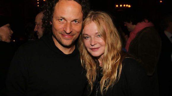 ... Produzent Tommi Eckart und seine Partnerin, Musikerin Inga Humpe ...