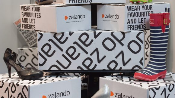 Rund 3,6 Milliarden Euro konnte Zalando 2016 umsetzen. Sie planen für Berlin 1000 neue Stellen und ziehen nun fix auf den Cuvry Campus.