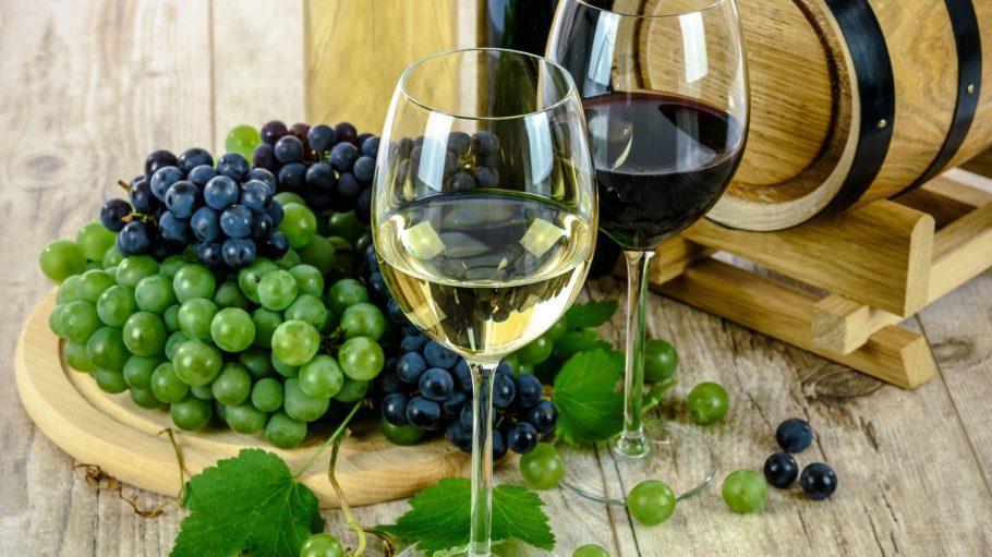 Die badischen Weine bestehen nur aus den besten Trauben.