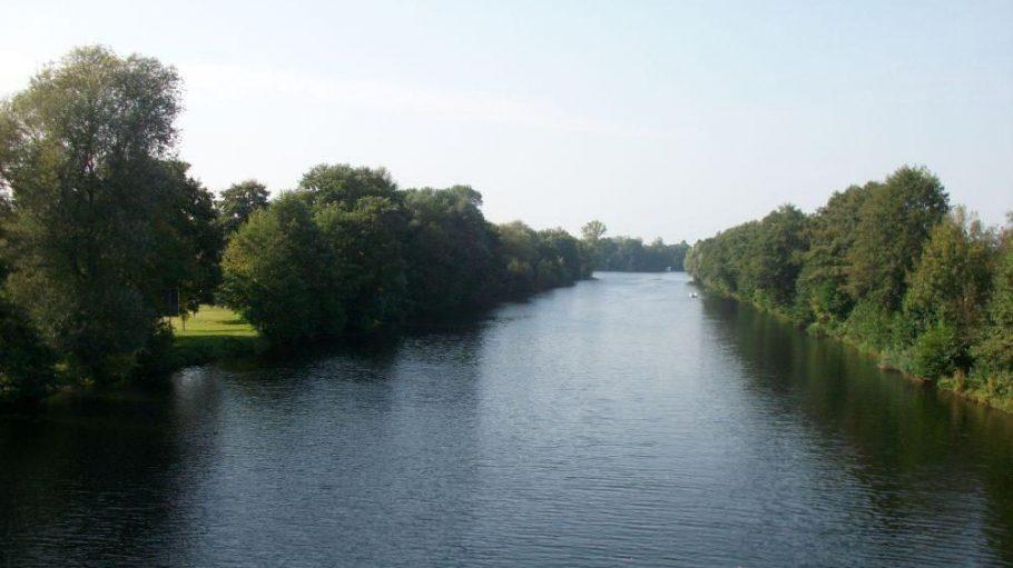 Eine grüne Lunge in Spandau: Der Hohenzollernkanal.