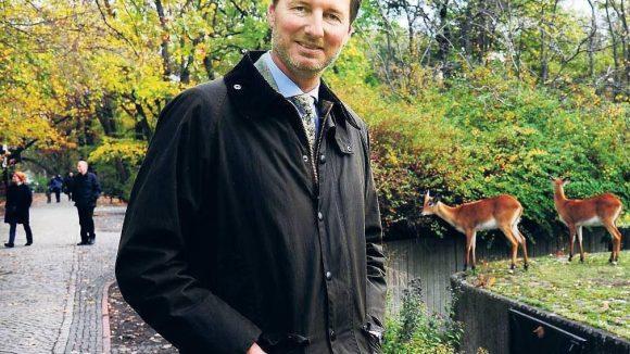 Ein weites Beschäftigungsfeld. Der neue Zoo-Chef Andreas Knieriem muss in der nächsten Zeit viele Probleme in Zoo und Tierpark lösen. Der Tierpark ist so gut wie pleite.