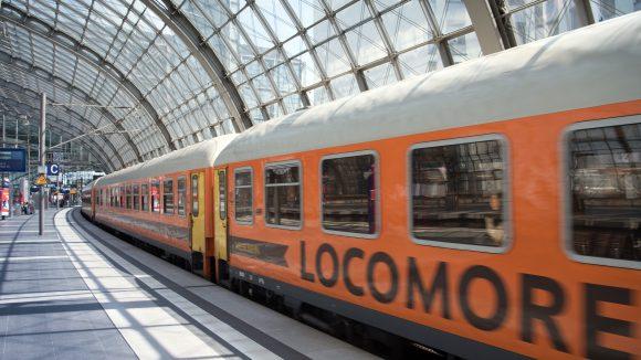 Die Züge von Locomore fahren bald wieder auf der Strecke zwischen Stuttgart und Berlin.