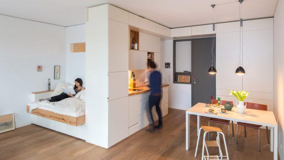 Einbaumöbel, Bett, Küche, Schrank, Houzz