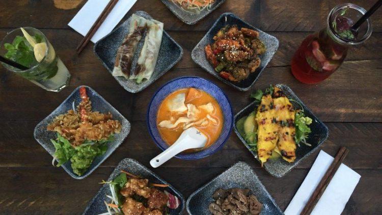 Asiatische Tapas im Restaurant Akemi.