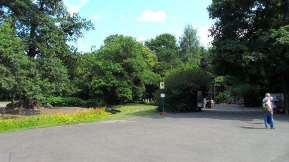 Die Idylle trügt: In der parkähnlichen Landschaft des Tierparks Berlin wurden jahrzehntelang illegale Abfälle entsorgt.