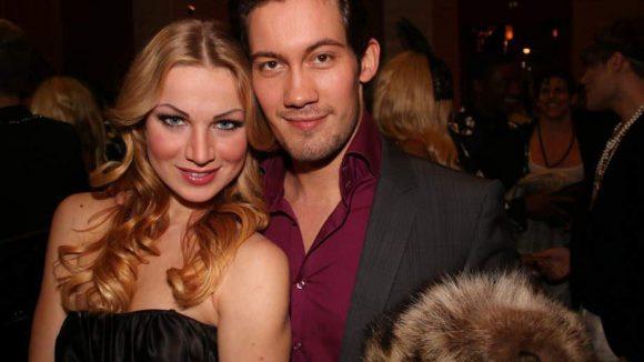 """Ekaterina Kalugina und ihren Tanzpartner Dmitry Barov kennt man aus der Show """"Let's Dance""""."""