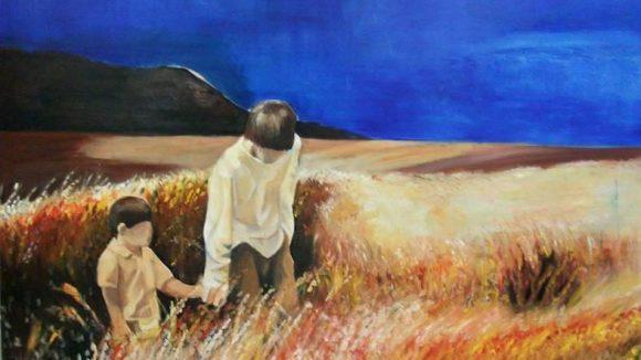 "Elena Tamburini, ""Follow the Leader"", Oil on Canvas, 2013."