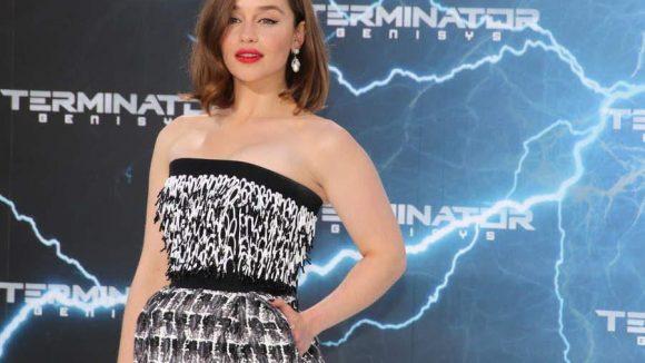Und noch eine - nicht verwandte - Clarke: Emilia verkörpert im neuen Terminator Sarah Connor.