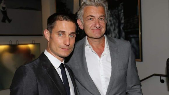 """Clemens Schick (links) outete sich im vergangenen Jahr und spielte in """"Futuro Beach"""" dann auch gleich seine erste schwule Rolle. Dominic Raacke kennt man als früheren Berliner """"Tatort""""-Kommissar."""