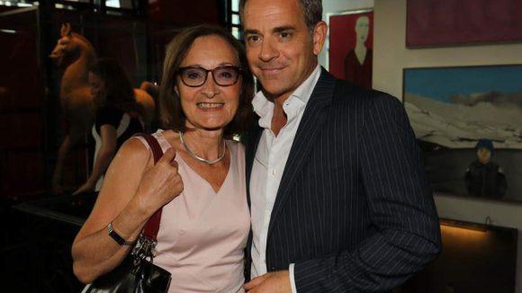 Die Schauspieler Eleonore Weisgerber und Florian Fitz.