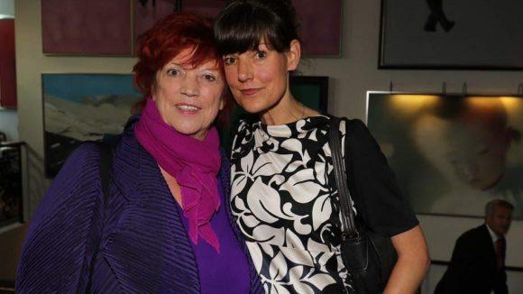 Zwei Produzentinnen Seit' an Seit': Produzentin Regina Ziegler (links) und Tanja Ziegler. Beide waren Mit-Initatorinnen der Veranstaltung.
