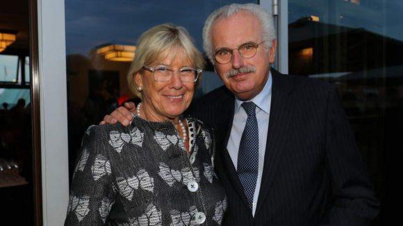 ... und Journalist Ulrich Deppendorf mit Gattin Ursula.