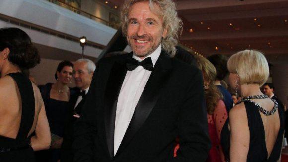 Seltener Gast: Entertainer Thomas Gottschalk.
