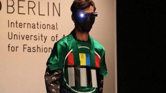 Sehr futuristisch: Jan-Philipp Gerlach.