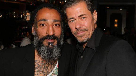 ... DJ Senay Gueler und Schauspieler Sven Martinek (rechts) ...