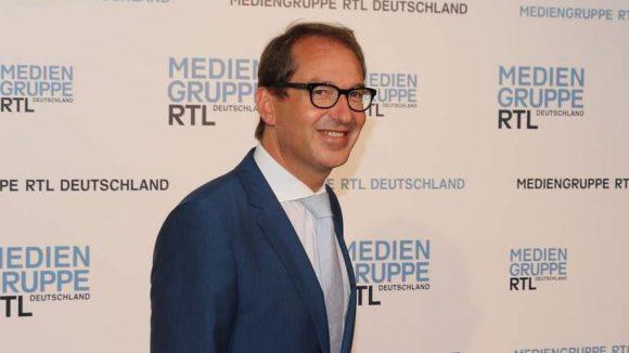 ... Verkehrsminister Alexander Dobrindt ...