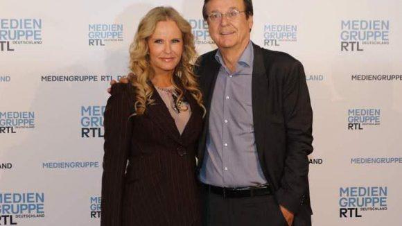 Moderatorin Katja Burkard und Journalist Hans Mahr haben sich in den 90er Jahren bei RTL kennen und lieben gelernt.