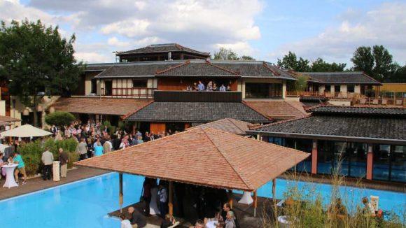 Und dann wurde am Wochenende natürlich auch noch das neue Vabali Spa in Moabit eingeweiht.