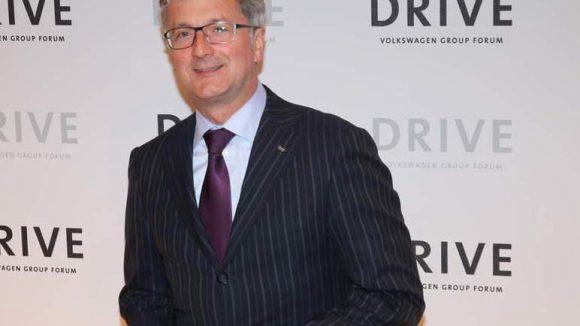 Audi-Chef Rupert Stadler durfte natürlich auch nicht fehlen.