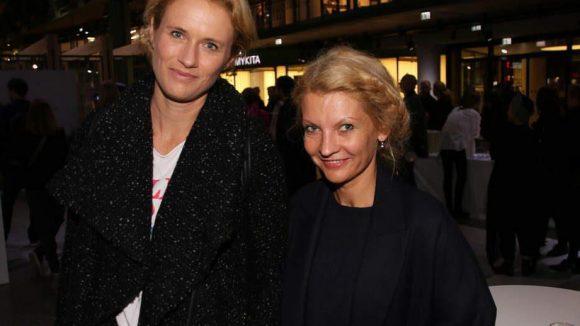 ... wie Nina Schweisgut (l.) und Anna Kraft. Nina betreibt den Strickladen Knit Knit in der Linienstraße, Anna hat ihren Shop im Bikini.