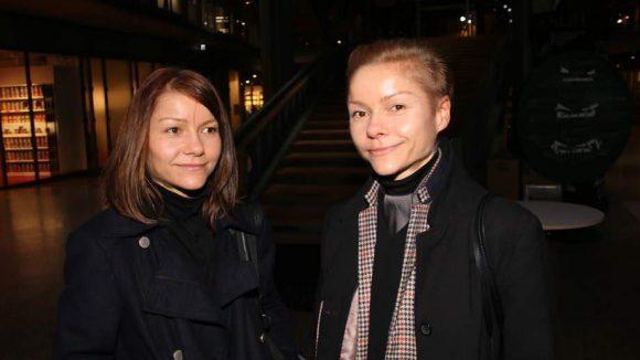 Diese beiden Damen - Anja (l.) und Sandra Umann - sind die Macherinnen des veganen Berliner Modelabels Umasan.
