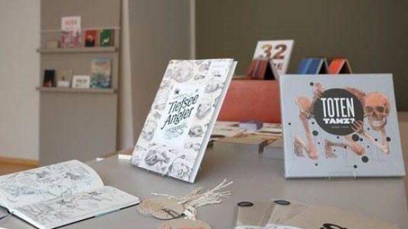 """""""Erlesen. schönes gedrucktes"""" ist ein Laden mit Print-Produkten der besonderen Art."""