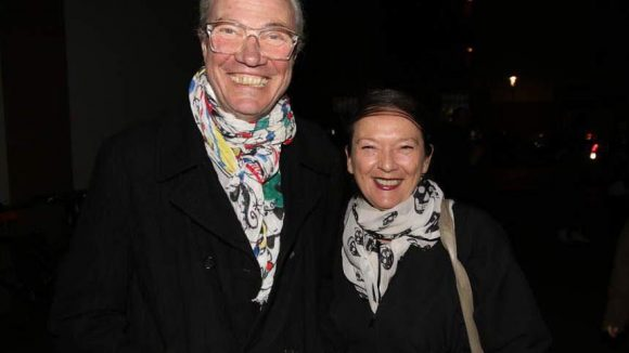 ... und last but not least Esmod-Chefin Silvia Kadolsky mit Partner Klaus Metz.