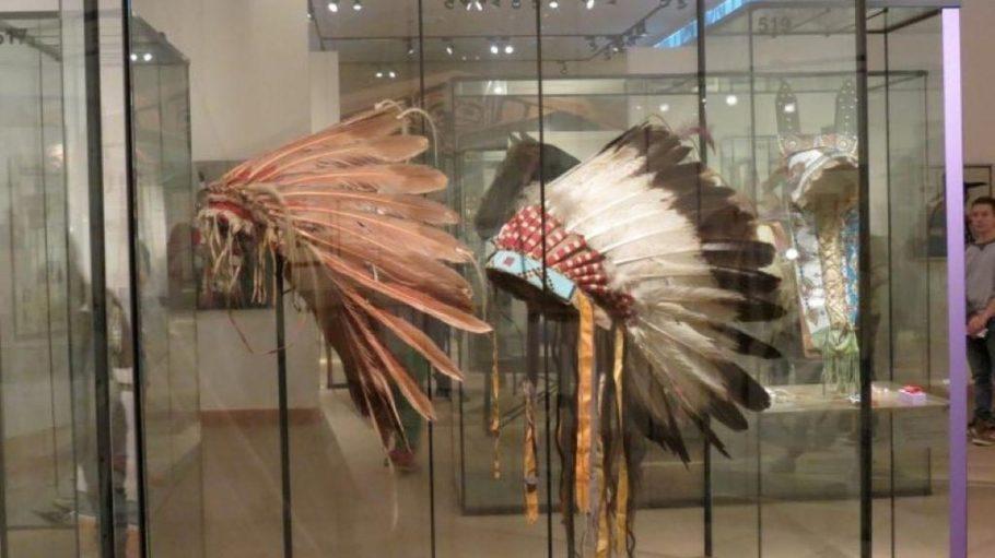 Jede Menge Interessantes z.B. zu den Indianern Nordamerikas gibt es zu entdecken.