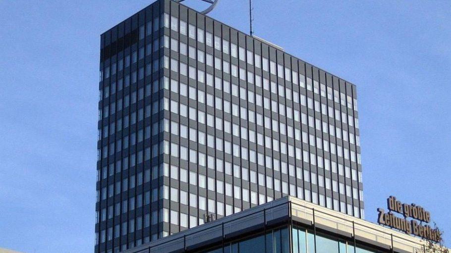 Sehr weit oben, im 19. Stock des Europa-Centers liegt die Puro Sky Lounge.