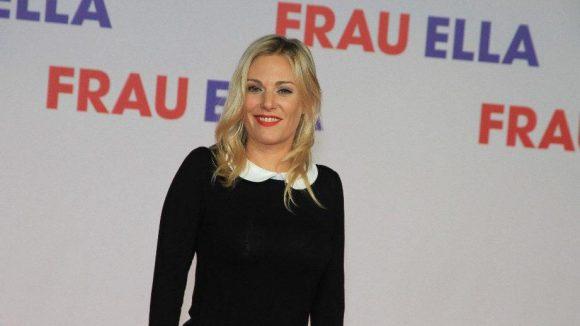 """Otto Waalkes Ex, die Schauspielerin Eva Hassmann (""""Speer und Er"""")."""